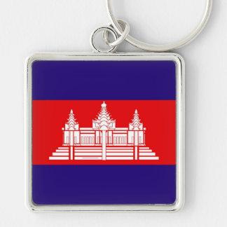 Flag of Cambodia Keychain