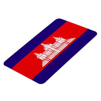 Flag of Cambodia Magnet