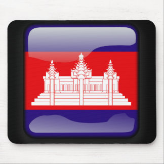 Flag of Cambodia Mouse Pads
