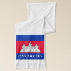 Flag of Cambodia Scarf