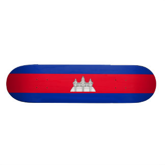 Flag of Cambodia Skateboard Deck