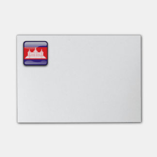 Flag of Cambodia Post-it® Notes
