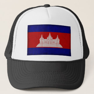 Flag of Cambodia Trucker Hat