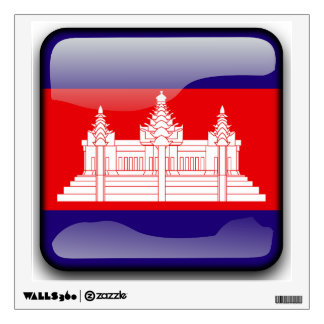 Flag of Cambodia Room Decal