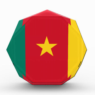 Flag of Cameroon Acrylic Award
