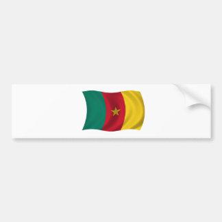 Flag of Cameroon Bumper Sticker