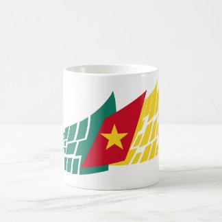 Flag of Cameroon style Coffee Mug