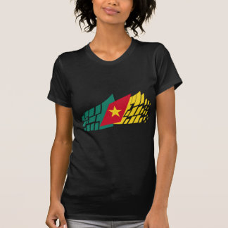 Flag of Cameroon style T-Shirt