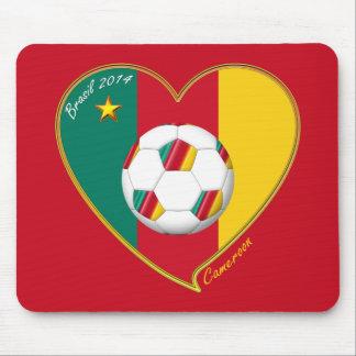 Flag of CAMEROUN national SOCCER of world 2014 Mousepad