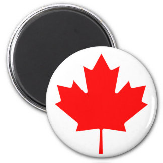 Flag of Canada 2 Inch Round Magnet