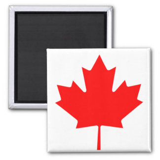 Flag of Canada 2 Inch Square Magnet