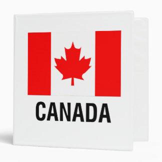 FLAG  of CANADA Binder