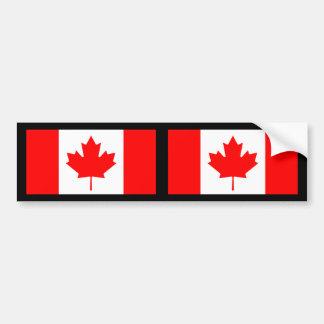 Flag Of Canada Bumper Sticker