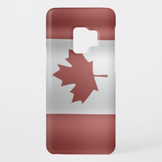 Flag of Canada Case-Mate Samsung Galaxy S9 Case