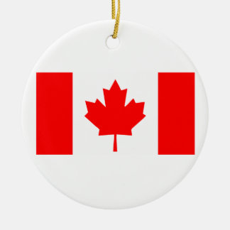Flag of Canada Ceramic Ornament