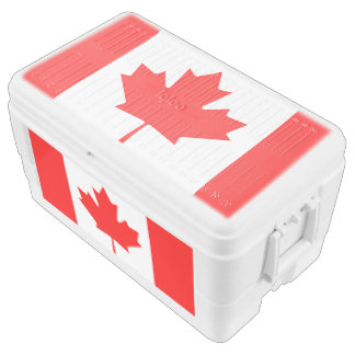 Flag of Canada Chest Cooler