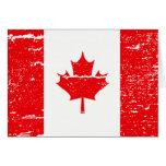 FLAG OF CANADA GREETING CARD