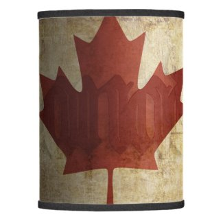 Flag of Canada / Grunge... Lamp Shade
