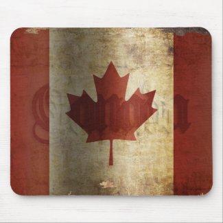Flag of Canada / Grunge...