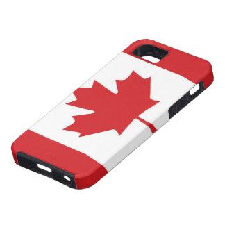 Flag of Canada iPhone 5 Case-Mate Tough™