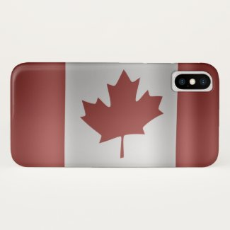 Flag of Canada... iPhone X Case
