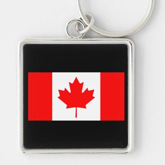 Flag Of Canada Keychain