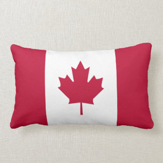 Flag of Canada Lumbar Pillow
