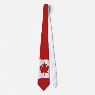 Flag Of Canada  l'Unifolié Tie