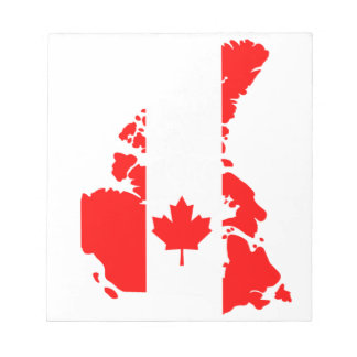 Flag of Canada Notepad