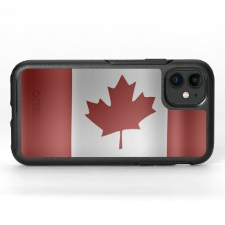 Flag of Canada... OtterBox Symmetry iPhone 11 Case