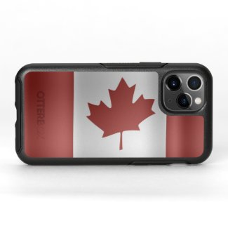 Flag of Canada... OtterBox Symmetry iPhone 11 Pro Case