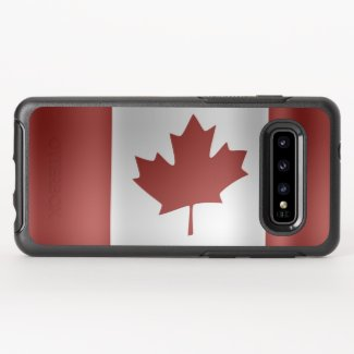 Flag of Canada... OtterBox Symmetry Samsung Galaxy S10 Case