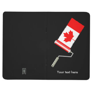 Flag of Canada Paint Roller Journal