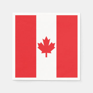 Flag of Canada Paper Napkin