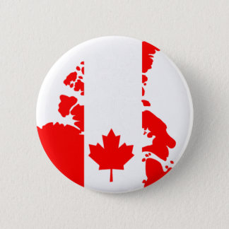 Flag of Canada Pinback Button