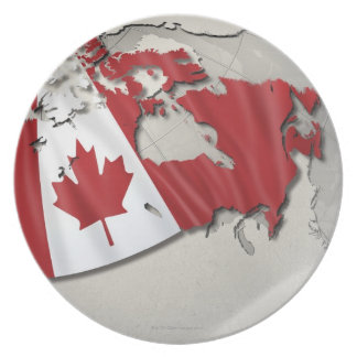 Flag of Canada Dinner Plate