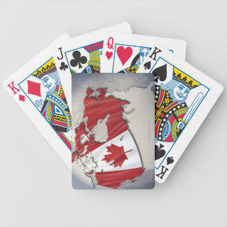 Flag of Canada Bicycle Card Deck