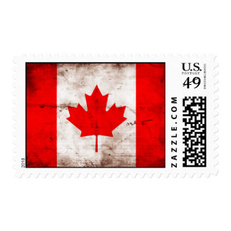 Flag of Canada Postage Stamp