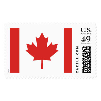 Flag of Canada Postage Stamps