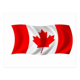 Flag of Canada Postcard