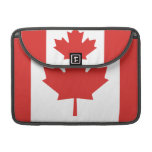 Flag of Canada Sleeve For MacBook Pro