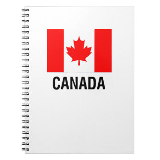 FLAG  of CANADA Spiral Notebook
