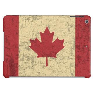 Flag of Canada Vintage Distressed iPad Air Case