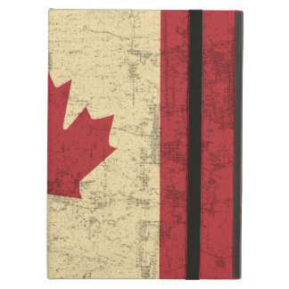 Flag of Canada Vintage Distressed Cover For iPad Air