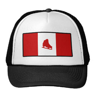 Flag of Canadian Skating Trucker Hat