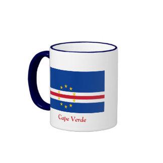 Flag of Cape Verde Coffee Mugs
