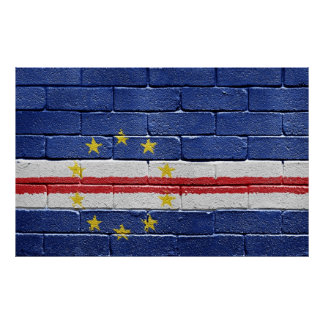 Flag of Cape Verde Poster