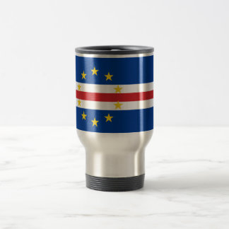 Flag of Cape Verde Travel/Commuter Mug