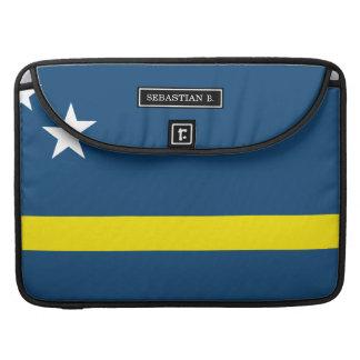 Flag of Caracao MacBook Pro Sleeve