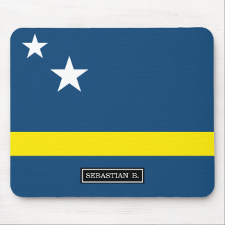 Flag of Caracao Mouse Pad